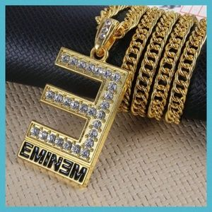 Other - EMINEM Hip Hop Fashion Pendant w/Chain